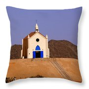 Built Of Sand Throw Pillow
