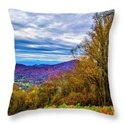 Bull Creek Valley Throw Pillow