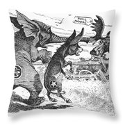 Bull Moose Campaign, 1912 Throw Pillow by Granger