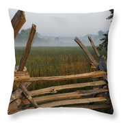 Bull Run Virginia Throw Pillow
