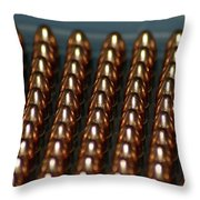 Bullet Points Throw Pillow
