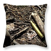 Bulletproof Throw Pillow