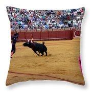 Bullfighting 35 Throw Pillow