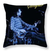 Bullfrog Blues 2 Throw Pillow