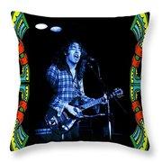 Bullfrog Blues In Kent Throw Pillow