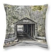 Bulls Bridge Throw Pillow