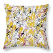 Bumble Bees Against The Windshield - Original Throw Pillow