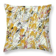 Bumble Bees Against The Windshield - V1sd92 Throw Pillow