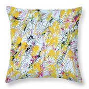 Bumble Bees Against The Windshield - V1vc100 Throw Pillow