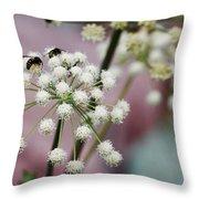 Bumblebee Gang Throw Pillow