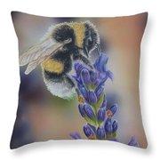 Bumblebee Nr3 Throw Pillow