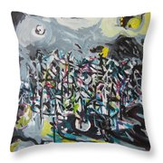 Bummer Flat11 Throw Pillow