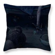 Bump In The Night Throw Pillow