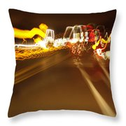 Bump Throw Pillow