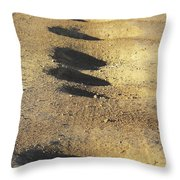 Bumps In The Road Throw Pillow