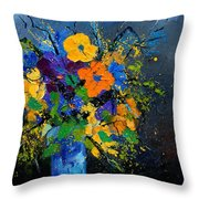 Bunch 1007 Throw Pillow
