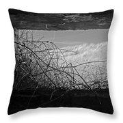 Bunker View Throw Pillow