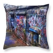 Bunkers Of Ft Wetherill Throw Pillow