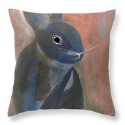 Bunny A Throw Pillow