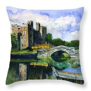 Bunratty Castle Throw Pillow