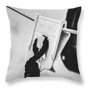 Buoy Bound Throw Pillow