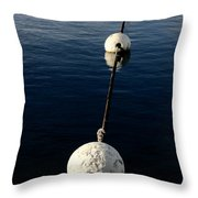 Buoy Descending Throw Pillow