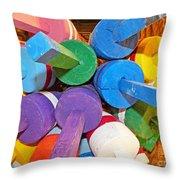 Buoy Kaleidoscope Throw Pillow