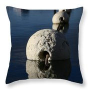 Buoy Upfront Throw Pillow