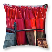 Buoys For The Mississippi Throw Pillow