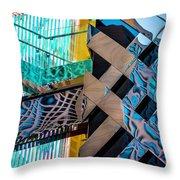 Burberry Flagship Store V3 Dsc7575 Throw Pillow