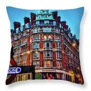 Burberry - London Underground Throw Pillow