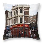 Bureau Of Change Throw Pillow
