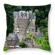 Burg Eltz Castle Throw Pillow