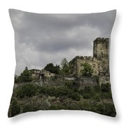 Burg Gutenfels 03 Throw Pillow