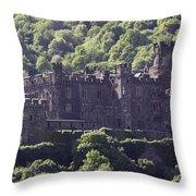 Burg Reichenstein 04 Throw Pillow