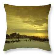 Burg Stolpen Throw Pillow by Stolpen