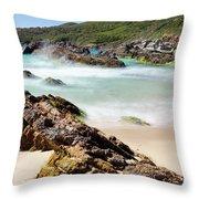 Burgess Beach Throw Pillow