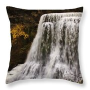 Burgess Fall Tennessee Throw Pillow