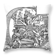Burgkmair - Maximilian Throw Pillow
