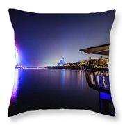 Burj Al Arab In Dubai, United Arab Emirates Throw Pillow