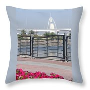 Burj Al Arab Throw Pillow