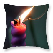 Burn 1 Throw Pillow