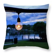 Burn Brighter Throw Pillow