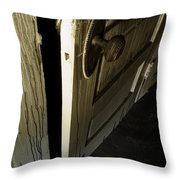 Burned Knob 02 Throw Pillow