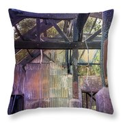 Burned Out Throw Pillow
