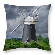 Burnham Overy Mill Throw Pillow