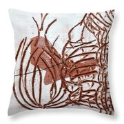 Burning Bush - Tile Throw Pillow