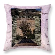 Burning Bush - Bgbub Throw Pillow