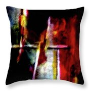 Burning Legacy Throw Pillow