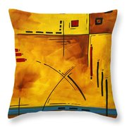 Burnt Desires By Madart Throw Pillow